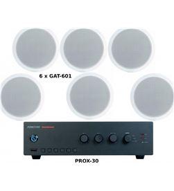 Fonestar +23702 #14 pack ahorro 150 - amplificador prox-60 + seis altavoces de techo g pack-ahorro-150 - +23702 #14