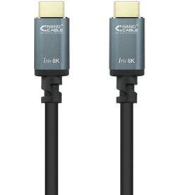 Nanocable 10.15.8001 cable hdmi / hdmi macho - hdmi macho/ 1m/ negro - 10.15.8001