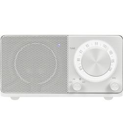 Sangean WR-7 BLANCO MATe radio analógica sobremesa fm bluetooth batería li- - +21268
