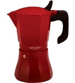 Cafetera Oroley petra roja 6 tazas, inducción 215090311 - 215090311