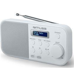 Muse +23770 #14 m-109 dbw blanco radio dab+/fm portátil con altavoz integrado y pantal m109dbw - +23770 #14