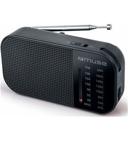 Muse +23772 #14 m-025 r negro radio analógica am/fm portátil con altavoz integrado m025r - +23772 #14
