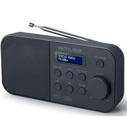 Muse +23771 #14 m-109 db negro radio dab+/fm portátil con altavoz integrado y pantalla m109db - +23771 #14