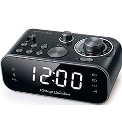 Muse +23768 #14 m-18 crb negro despertador doble alarma con radio am fm o zumbador m18crb - +23768 #14