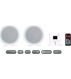 Fonestar +23699 #14 k 06 blanco pareja altavoces inalámbricos pared o techo con mando ks-06 - +23699 #14