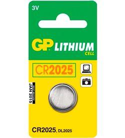 Gp BOTON CR2025 pila litio cr2025 3v blister de 1 unidad - +20526