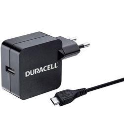 Duracell DMAC10-EU cargador de pared - 1xusb - 5v - 2.4a - cable micro usb - DRC-CARGA DMAC10-EU