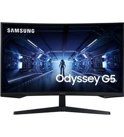 Monitor gaming curvo Samsung odyssey g5 lc27g55tqwr 27''/ wqhd/ negro LC27G55TQWRXEN - LC27G55TQWRXEN