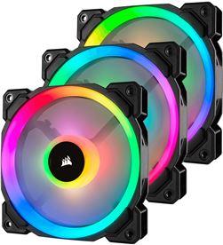 Todoelectro.es VN01CO21 corsair ll120 rgb negro - pack 3 ventiladores caja 120mm - GENVN01CO21