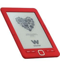 Woxter EB26-045 libro electrónico ebook scriba 195/ 6''/ tinta electrónica/ rojo - EB26-045