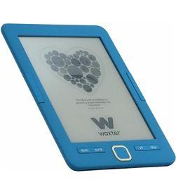 Woxter EB26-043 libro electrónico ebook scriba 195/ 6''/ tinta electrónica/ azul - EB26-043