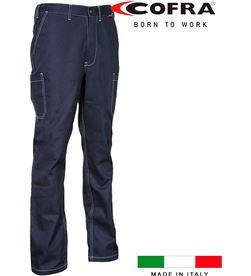 Cofra 80585 #19 pantalon lesotho azul marino talla 58 8023796527904 - 80585