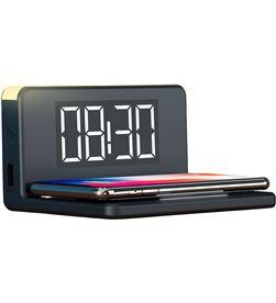 Todoelectro.es BXCQI09 cargador inalambrico fast charging despertador 10w negro - CONBXCQI09