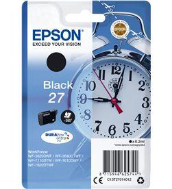 Epson C13T27014012 tinta 27 durabrite negro Cámaras - C13T27014012