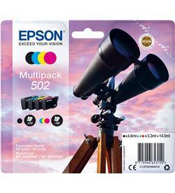 Epson C13T02V64020 multipack tintas 502 4 colores Cámaras - C13T02V64020