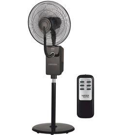 Haeger HF18R001A ventilador digital con humidificador black - 5608475016226