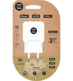Tech A0037128 cargador usb-c one blanco tec2251 Cargadores - A0037128
