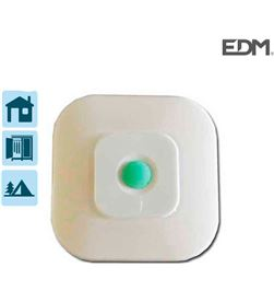 Edm luz led para pared adhesiva con interruptor 8 leds 8425998360967 - 36096