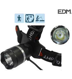 Edm linterna cabeza 1 super led cree 3w 8425998360592 - 36059