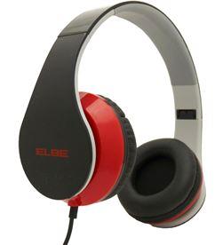 Auricular plegable Elbe AU546NR negro/rojo - AU546NR