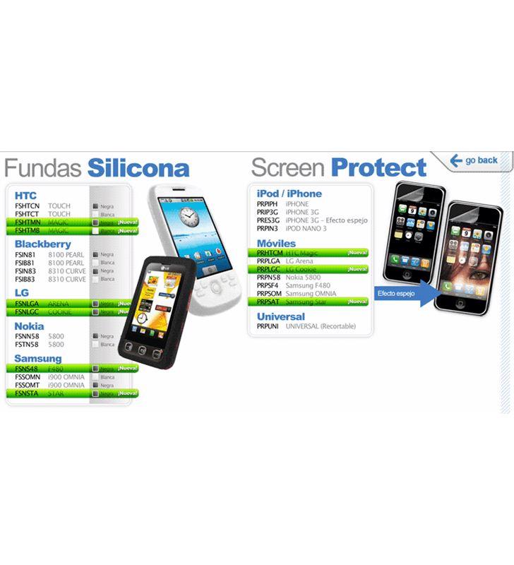 Blautel protector pantalla para nokia 5800 prpn58 - PRPN58