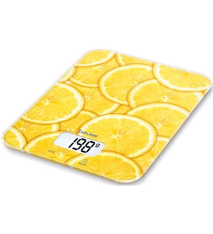 Beurer KS19LEMON balanza cocina 5kg cristal limon Balanzas - KS19LEMON
