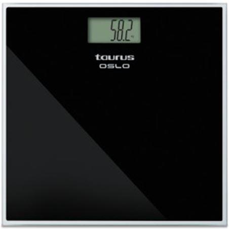 Bascula baño Taurus oslo negra (verii) 990539