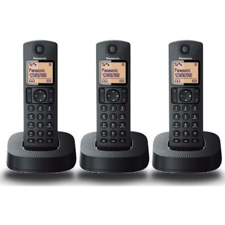 Telefono inal Panasonic kx-tgc313spb trio negro KXTGC313SPB
