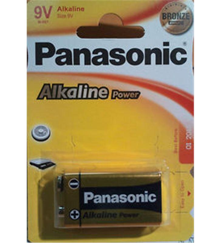 Pilas alcalinas Panasonic 9v 6lr61 ap ( 1-blist PAN9V - 6LR61-AP