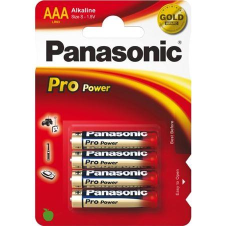 Pilas alcalinas Panasonic 1.5v LR03PP/4BP ( 4-bl