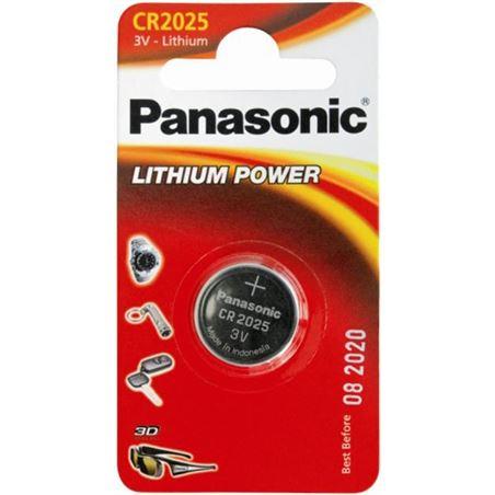 Pila litio Panasonic cr-2025/1bp ( 1-blister ) 3v C2025