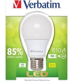 Bombilla led Verbatim 52601 classic a e27 9w Iluminacion - 52601