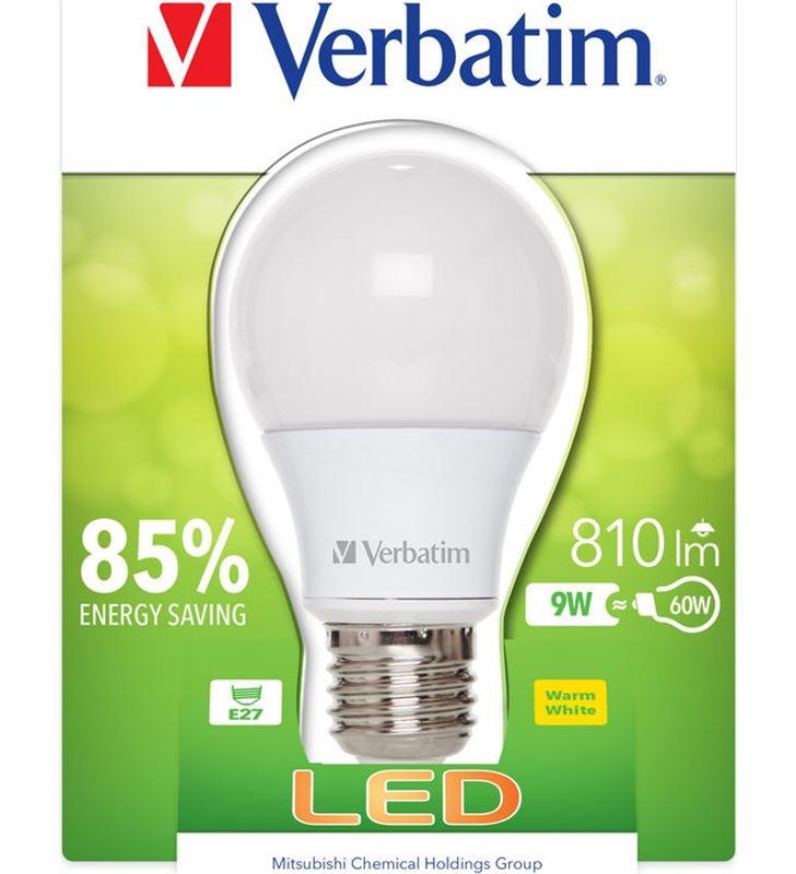 Bombilla led Verbatim 52601 classic a e27 9w - 52601