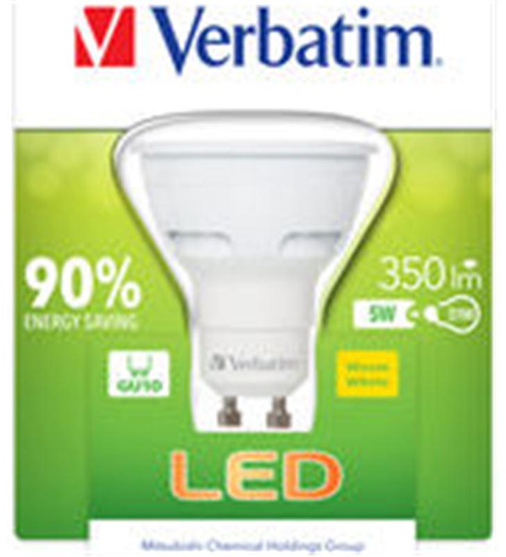 Bombilla led Verbatim 52608 halogena gu10 5w - 52608