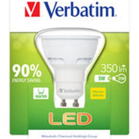 Bombilla led Verbatim 52608 halogena gu10 5w