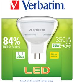 Bombilla led Verbatim 52609 halogena gu5.3 5.5w Iluminacion - 52609