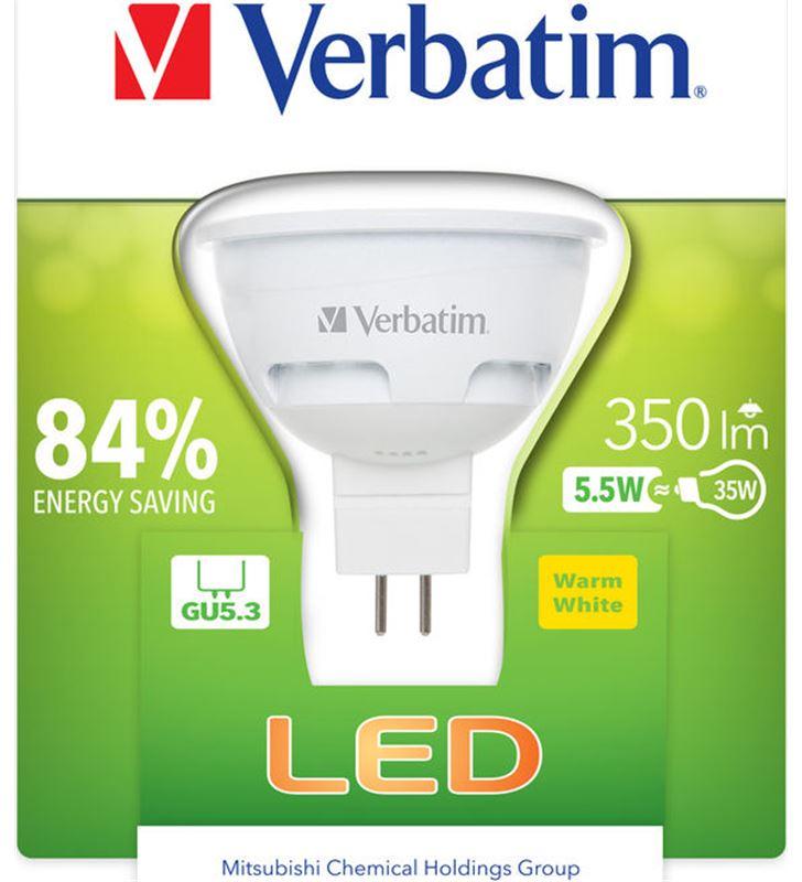 Bombilla led Verbatim 52609 halogena gu5.3 5.5w - 52609