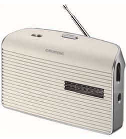 Grundig GRN1520 radio portatil music60 blanca () Radio Radio/CD - GRN1520