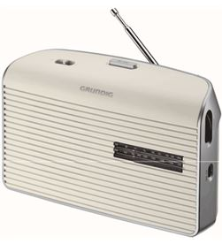 Radio portatil Grundig music60 blanca (GRN1520) Radio Radio/CD - GRN1520