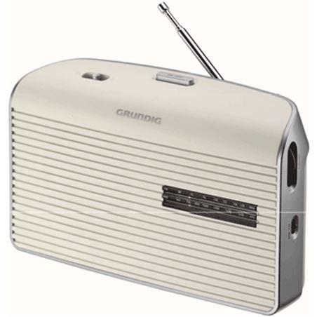 Radio portatil Grundig music60 blanca (GRN1520)