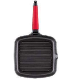 Castey 2-IG27 plancha carne ind mango rojo 27x27cm cty2ig27 - 2-IG27