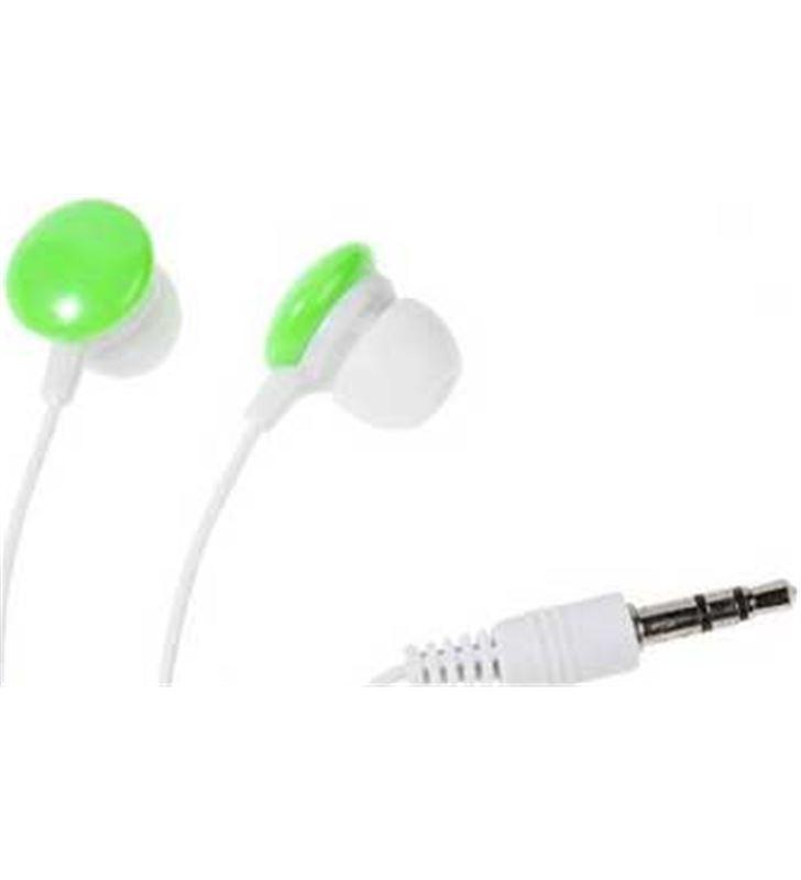 Auriculares boton Vivanco sr 3 verde stereo 34885 - 34885