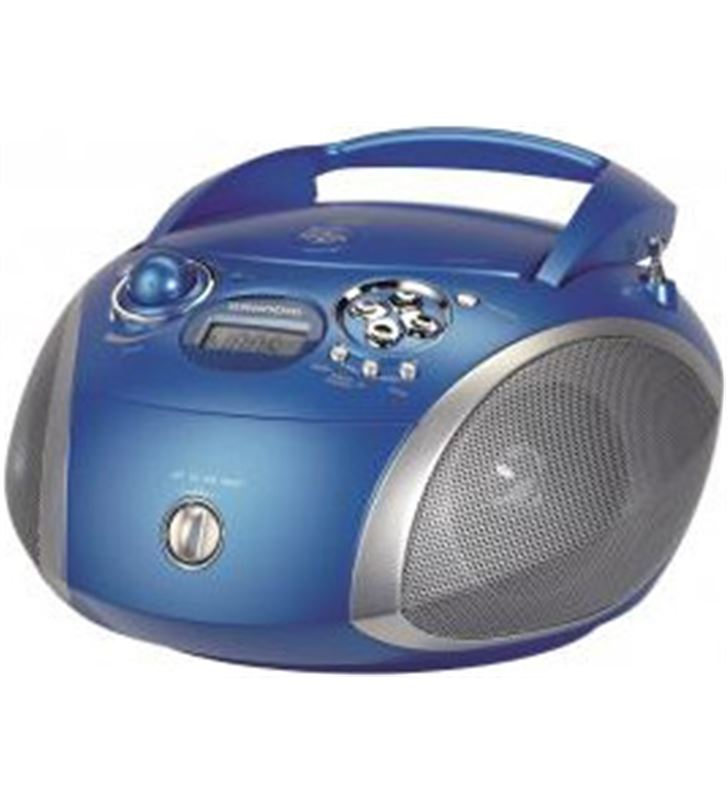 Radio cd Grundig rdc1445 mp3 azul (GDP6320) - GDP6320