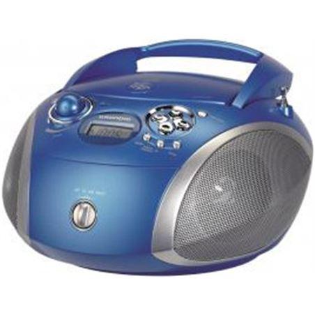 Radio cd Grundig rdc1445 mp3 azul (GDP6320)