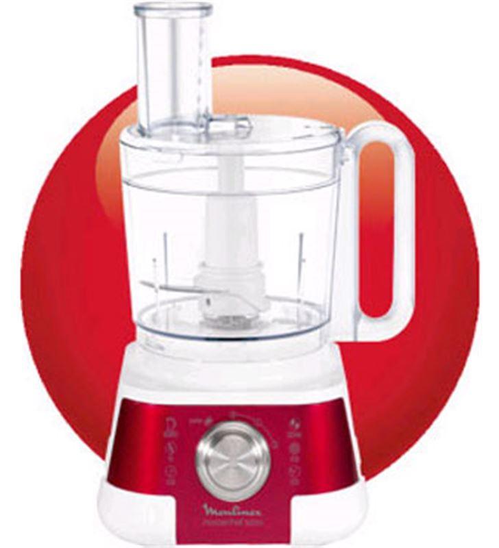 Robot cocina Moulinex FP520G masterchewff 5000 roj - FP520G