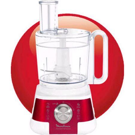 Robot cocina Moulinex fp520g masterchewff 5000 roj