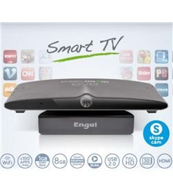 Engel EN1005 receptor smart tv android con camera TDT/Satélite - EN1005