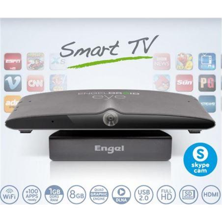 Receptor smart tv android Engel EN1005 con camera