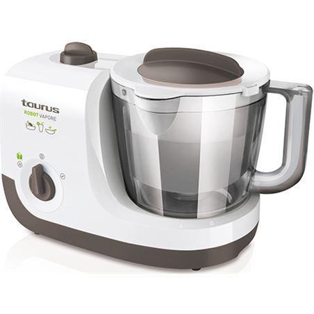 Robot cocina Taurus vapore 750w + libro recetas 925004
