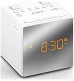 Radio reloj Sony ICFC1TW.ced 2 alarmas blanco Radio y Radio/CD - ICFC1TW